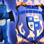 Flammendes Logo erstellt vom Medienteam